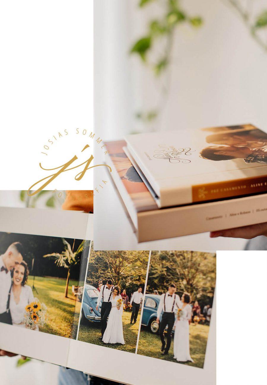 Álbuns de fotos da casamento